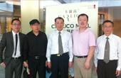 原商务部副部长,现中国企业家协会会长周可仁参观宁波卡聂高国际红酒城